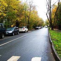 Улица Алексея Дикого.