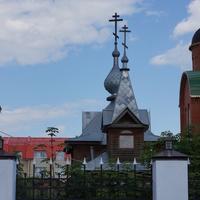 Деревянная Свято-Троицкая церковь