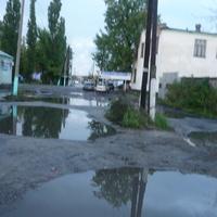 2013 г.Дороги в Краснолесном после дождя