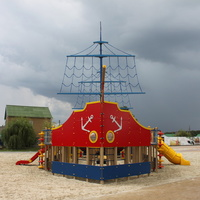Маслова Пристань. Детская игровая площадка.