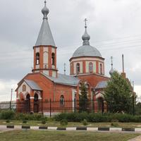 Маслова Пристань. Свято-Михайловский храм.