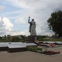 Маслова Пристань. Мемориал погибшим освободителям села.