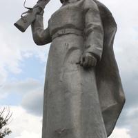 Маслова Пристань. Мемориал.