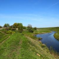 У истока речки Мокрый Семенёк.