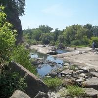 Богуслав, речка Рось,лето 2015