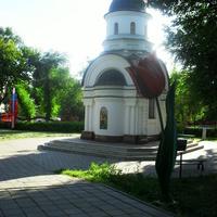 г.Оренбург, часовня свм. Георгия Победоносца в ВК <Салют, Победа!>