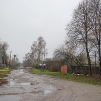 Золотинка. Улица в селе.