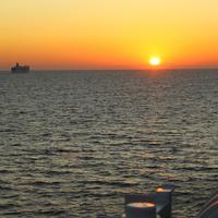 Рассвет над Финским заливом