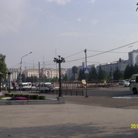 Вид на площадь Советов в Улан-Удэ