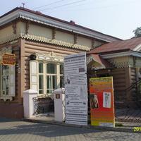 Музей истории города в пешеходной зоне Улан-Уде на улице Ленина