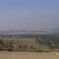 "Вид на город у дацана ""Ринпоче Багша"" в Улан-Удэ"