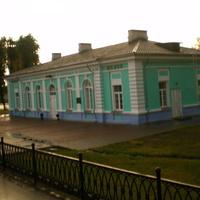 вокзал Шклов. раннее утро