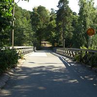 Мост в парк Сапокка