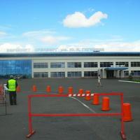 В 19 км. восточнее города расположен Аэропорт Оренбург им.Ю.А.Гагарина