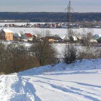 Ягунино зимой