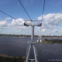 Канатная Подвесная дорога в Нижнем Новгороде