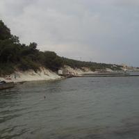 Кабардинка. Обрывистый пляж