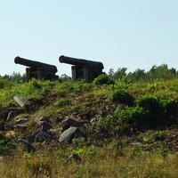 Пушки крепости
