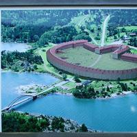 Схема крепости Бомарсунд