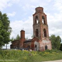 Церковь Николая Чудотворца в Спасском.