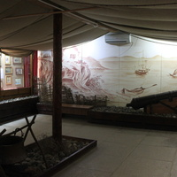 Тамань. Экспозиция Дома-музея М.Ю. Лермонтова.