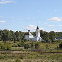 Дмитриевский Погост в Литвинове. Церковь Успения Пресвятой Богородицы