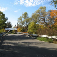 Мост через р. Нергель
