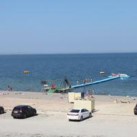 Тамань. Ценетральный пляж.