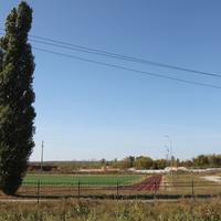Новая Таволжанка. Стадион.