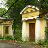 Ворота дворца Воронцова-Дашкова
