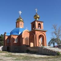 Новая Таволжанка. Строительство церкви Покрова Пресвятой Богородицы.
