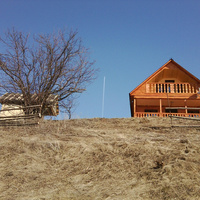 Новый дом на горе