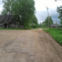 деревня  Падбережье (Налески) Валдайского  района, недалеко  от  Лутовёнки