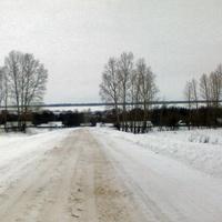 Дорога на Весёлое