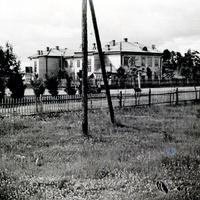 Глембочинская школа. Дер. Глембочино.