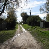 середина деревни