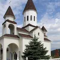 Церковь Николая Чудотворца в поселке Новомихайловский
