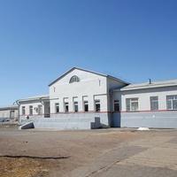 Вокзал станции Загустай
