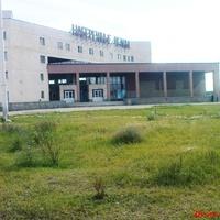 КГЭС-здание вокзала с перрона