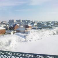 """пос.""""ЗЯБ""""-котеджный поселок зимой"""