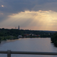 Бронницы, река Москва