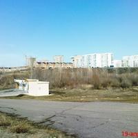 Н.город-вид с зоны пляжа