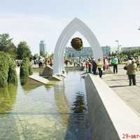 Н.город-фонтан у мэрии