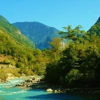 Река Бзыбь. Кавказ. Абхазия.