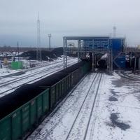 Станция Знаменская. Моховский разрез