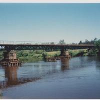Река Клязьма. Мост перед г. Костерёво. Июль 1994г.