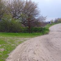 Попівка,дорога на Санжариху