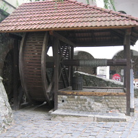 Колодец в замке Паланок