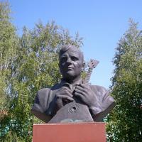 Памятник Щербинину М.А. в селе Большебыково