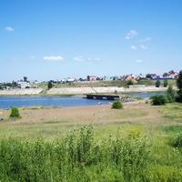 """""""КГЭС""""-останки старого моста"""